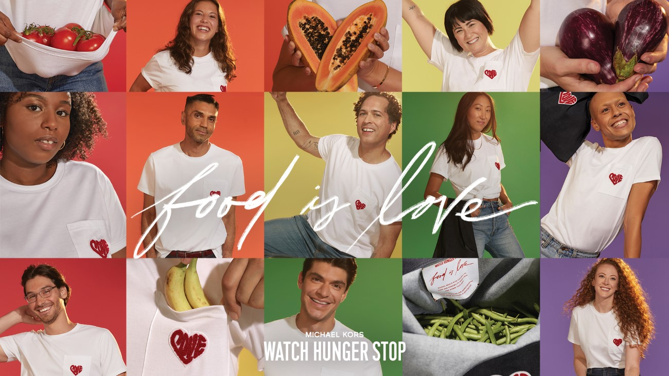 Michael Kors - Campagne Watch Hunger Stop 2020