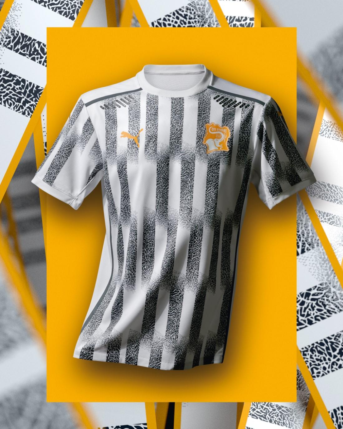 PUMA Football - Sélection Côte d'Ivoire 2020-2021 - Away Kit