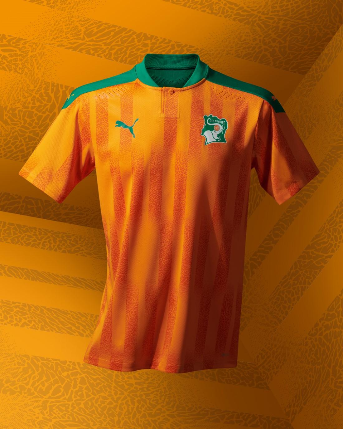 PUMA Football - Sélection Côte d'Ivoire 2020-2021 - Home Kit
