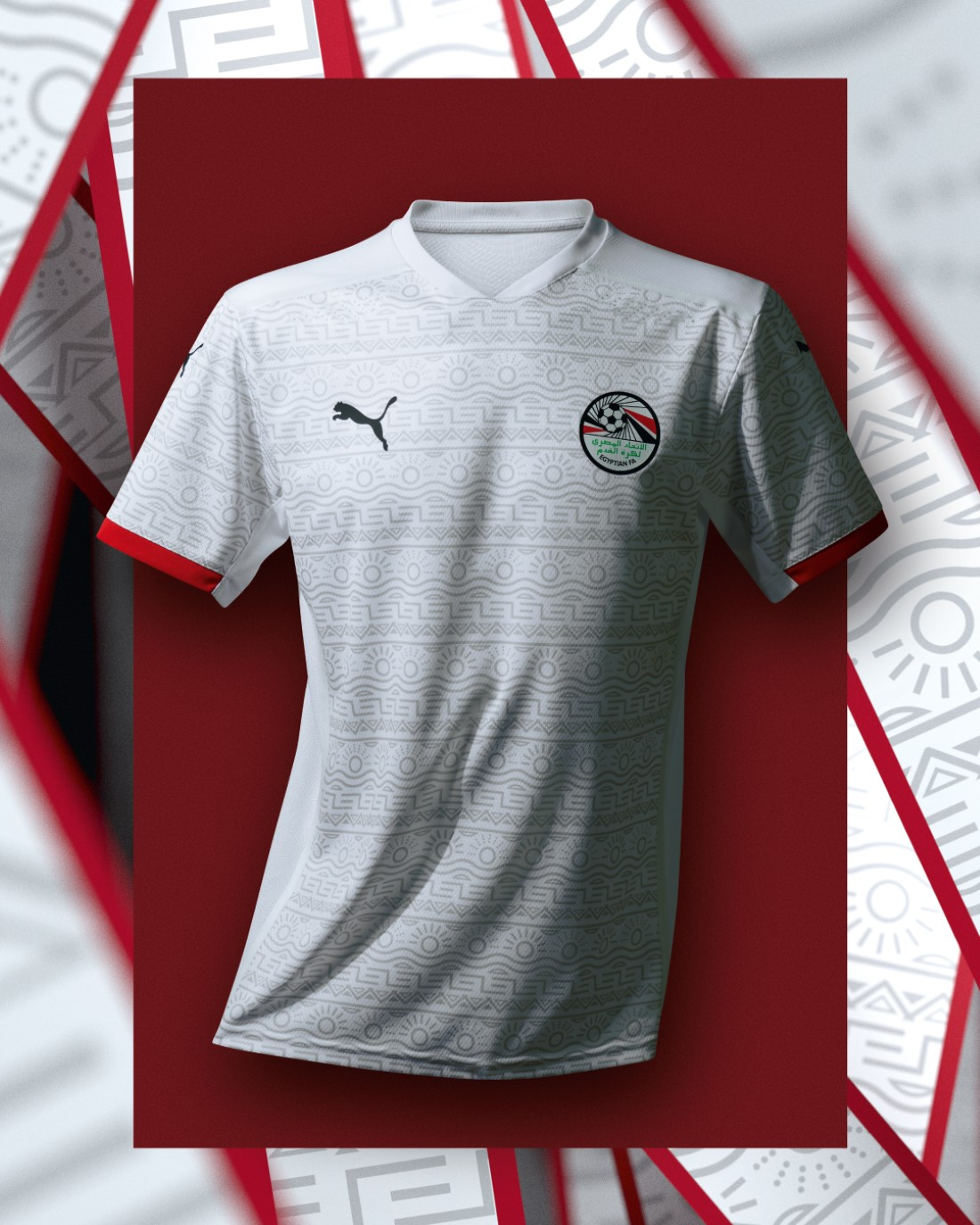 PUMA Football - Sélection Egype 2020-2021 - Away Kit