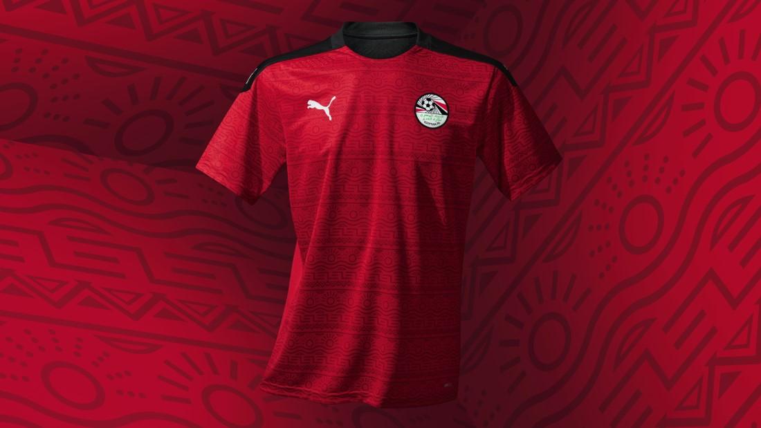 PUMA Football - Sélection Egype 2020-2021 - Home Kit