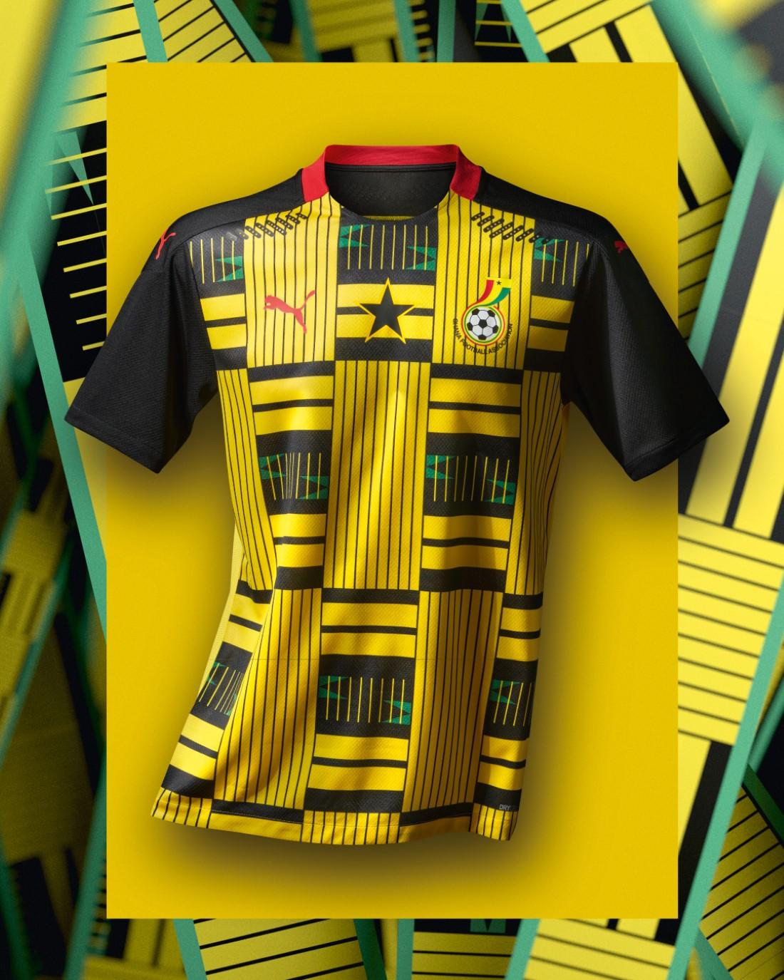 PUMA Football - Sélection Ghana 2020-2021 - Away Kit