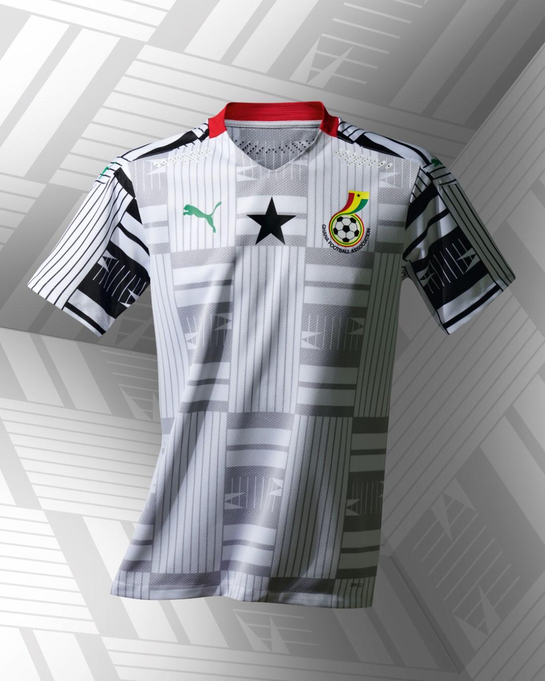 PUMA Football - Sélection Ghana 2020-2021 - Home Kit