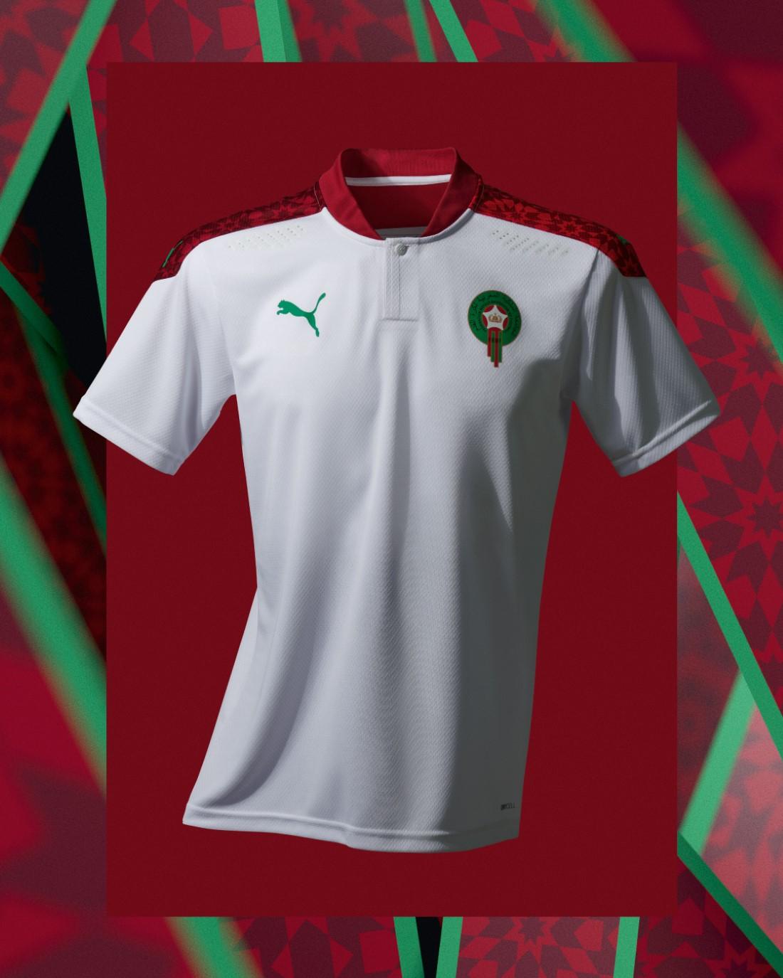 PUMA Football - Sélection Maroc 2020-2021 - Away Kit
