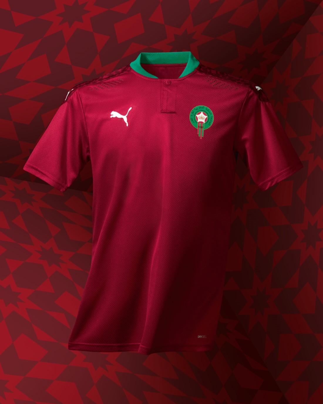 PUMA Football - Sélection Maroc 2020-2021 - Home Kit