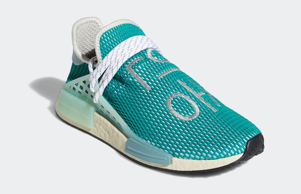 Pharrell x adidas NMD Hu Dash Green