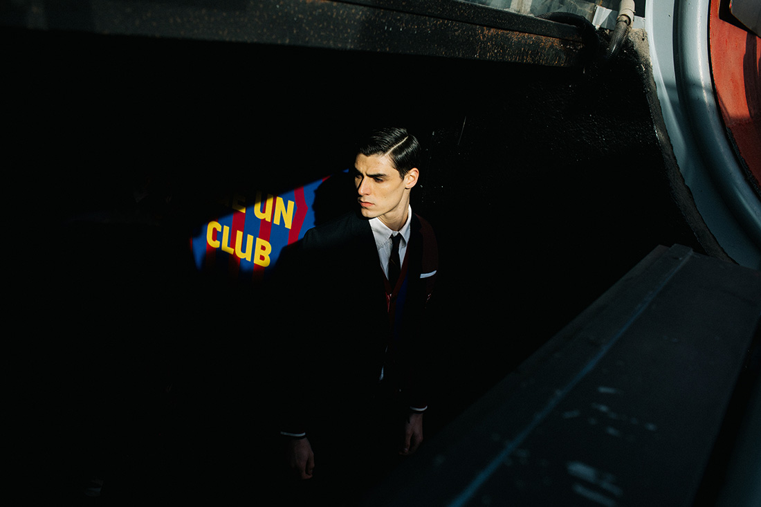 Thom Browne x FC Barcelone