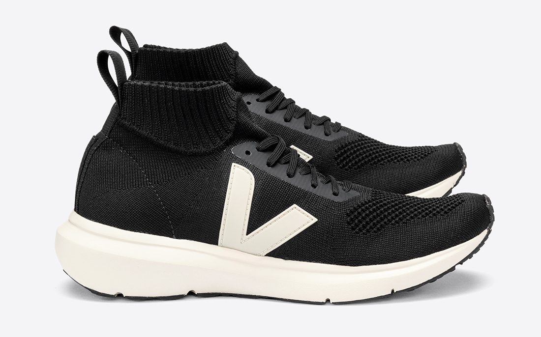 VEJA x Rick Owens Automne-Hiver 2020 Runner Style Mid