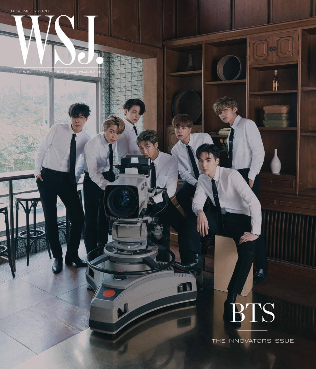 BTS - WSJ. Magazine