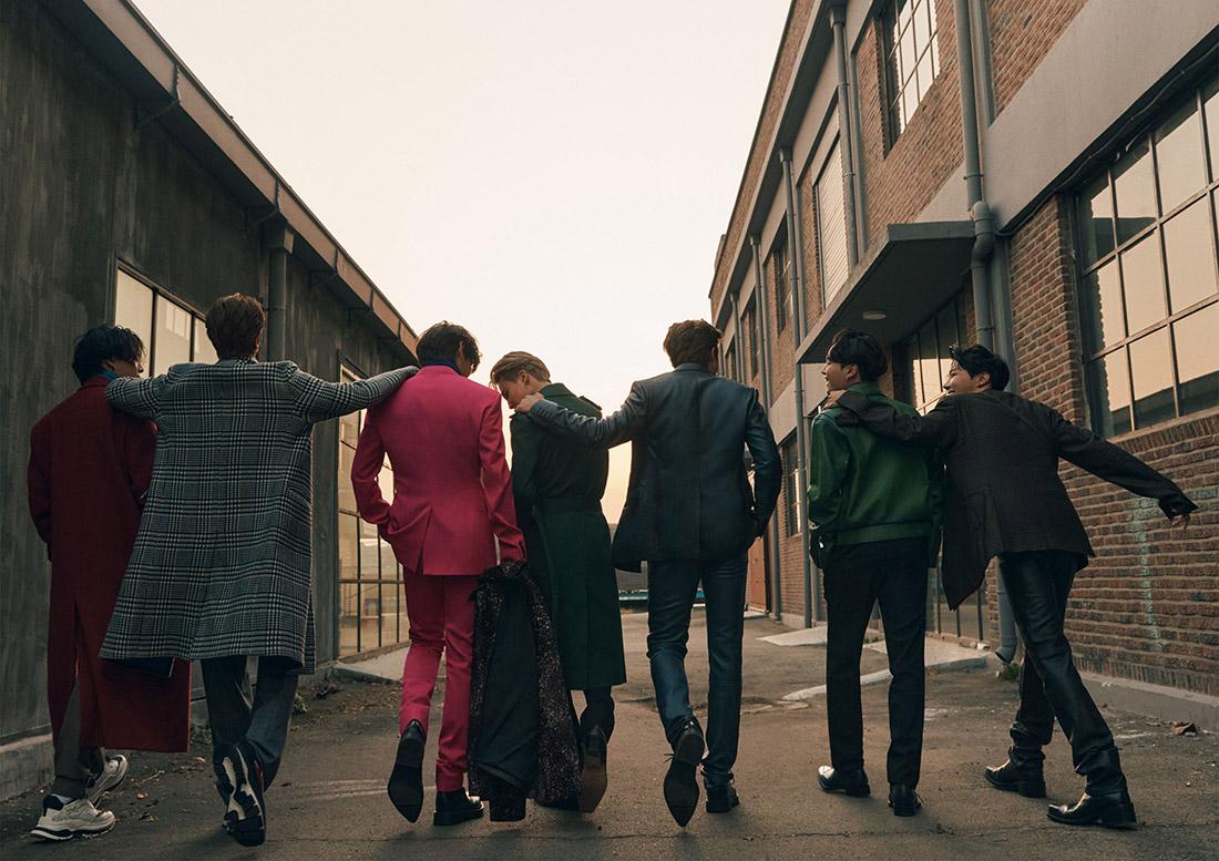 BTS x Esquire Numéro Hiver 2020