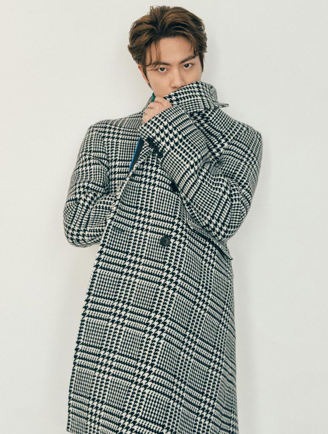 BTS x Esquire Numéro Hiver 2020 - Jin