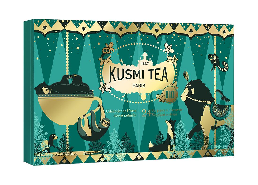 Calendrier de l'Avent 2020 Gourmet - Kusmi Tea