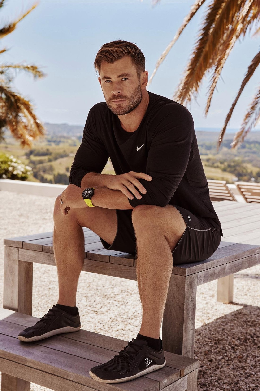 Chris Hemsworth - Campagne TAG Heuer
