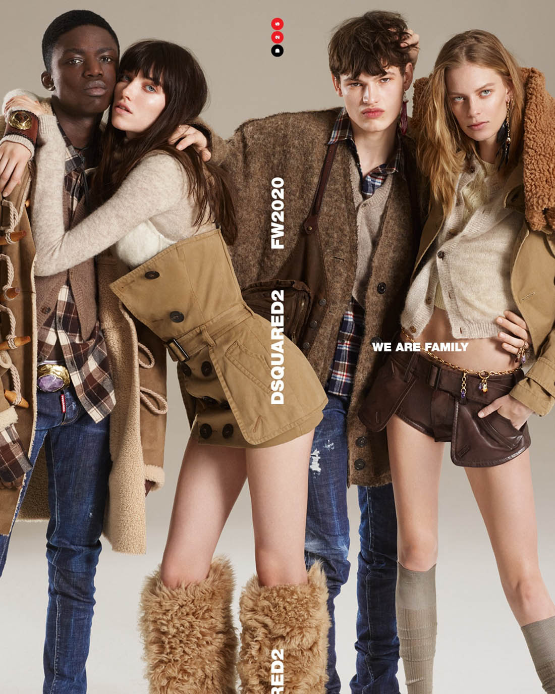 Dsquared2 Campagne Automne-Hiver 2020