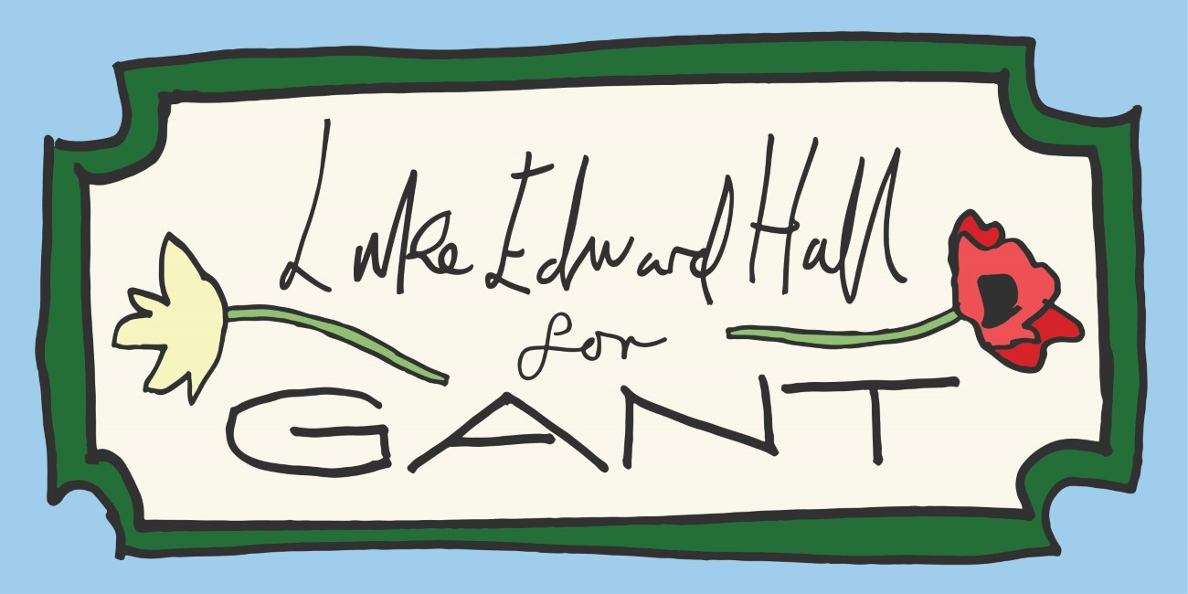 GANT x Luke Edward Hall