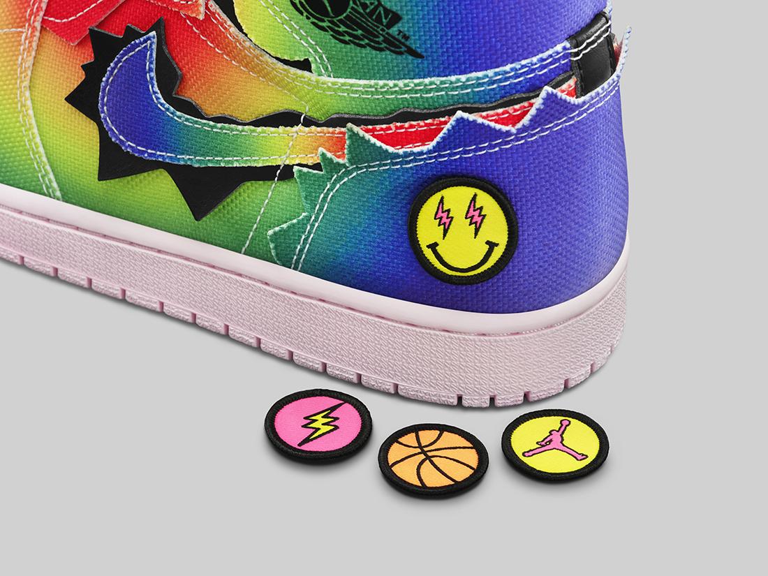 J Balvin x Air Jordan 1 High OG