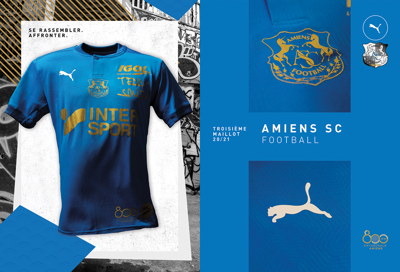PUMA Football x Amiens SC - Maillot Third 2020-2021