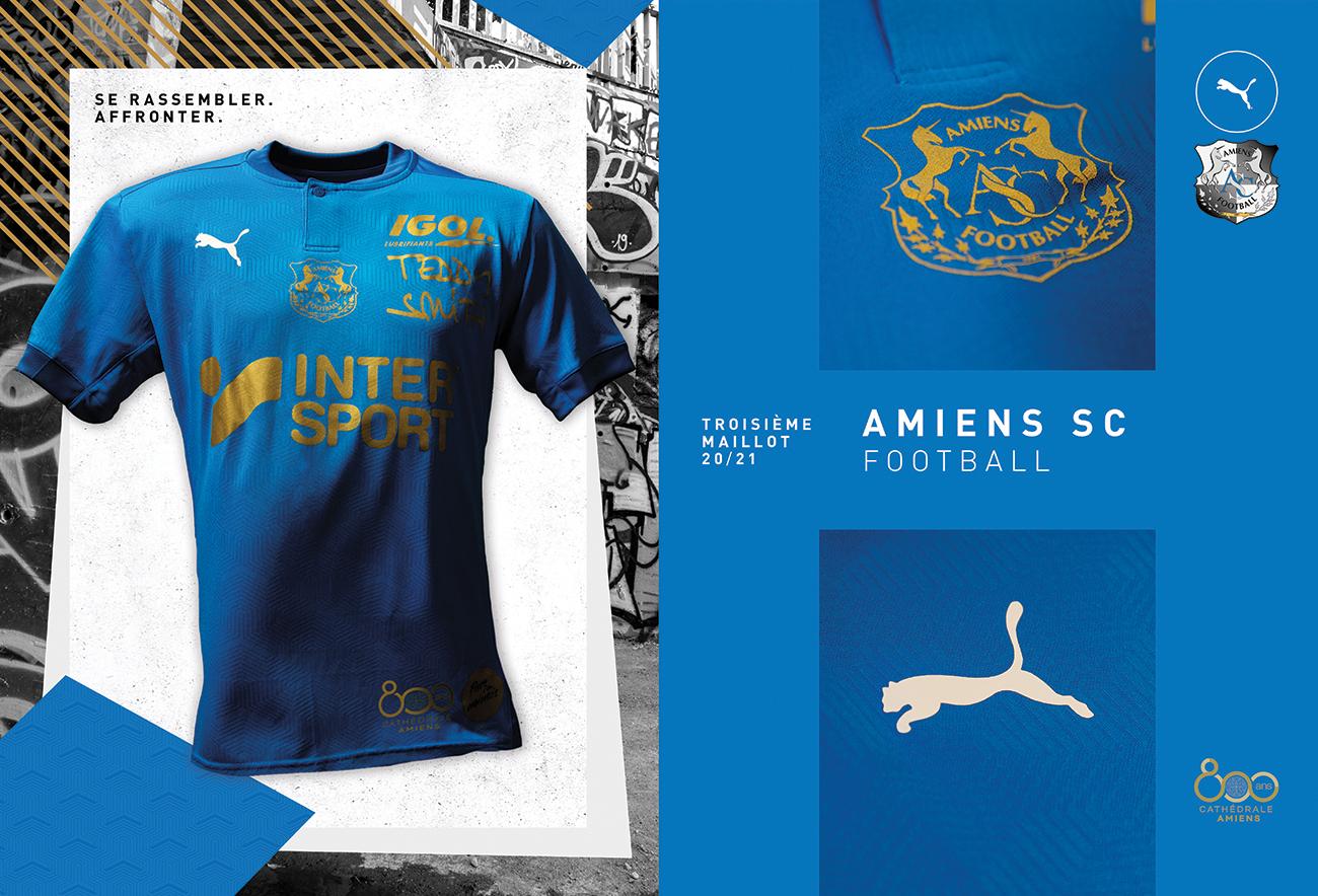 PUMA Football x Amiens SC - Maillot Third 2020-2021