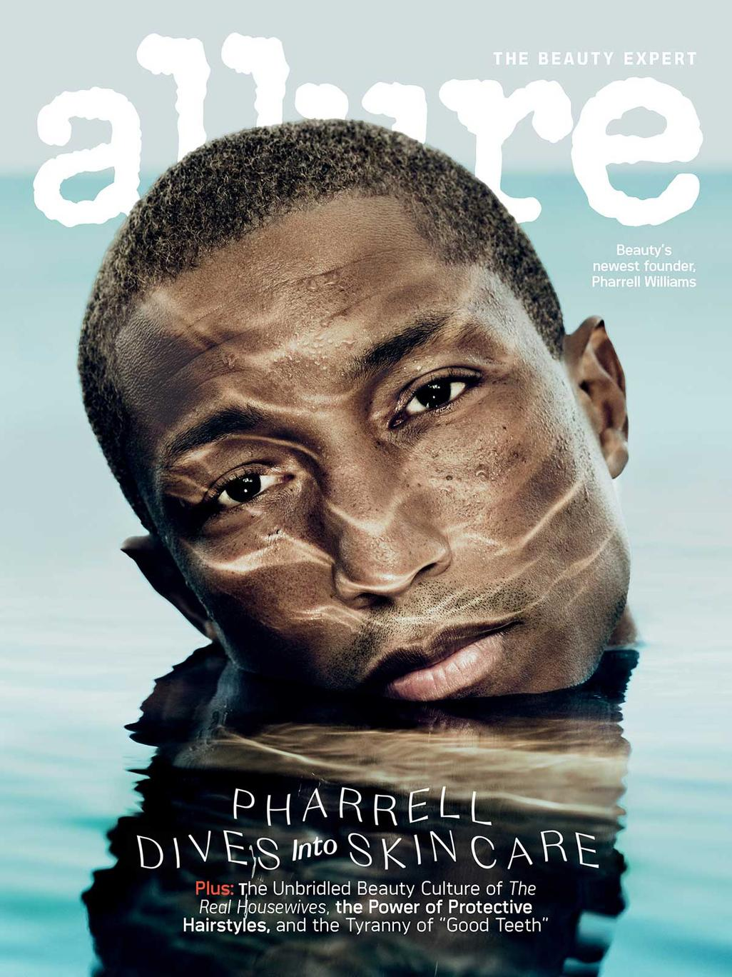 Pharrell Williams - Allure Magazine Décembre 2020