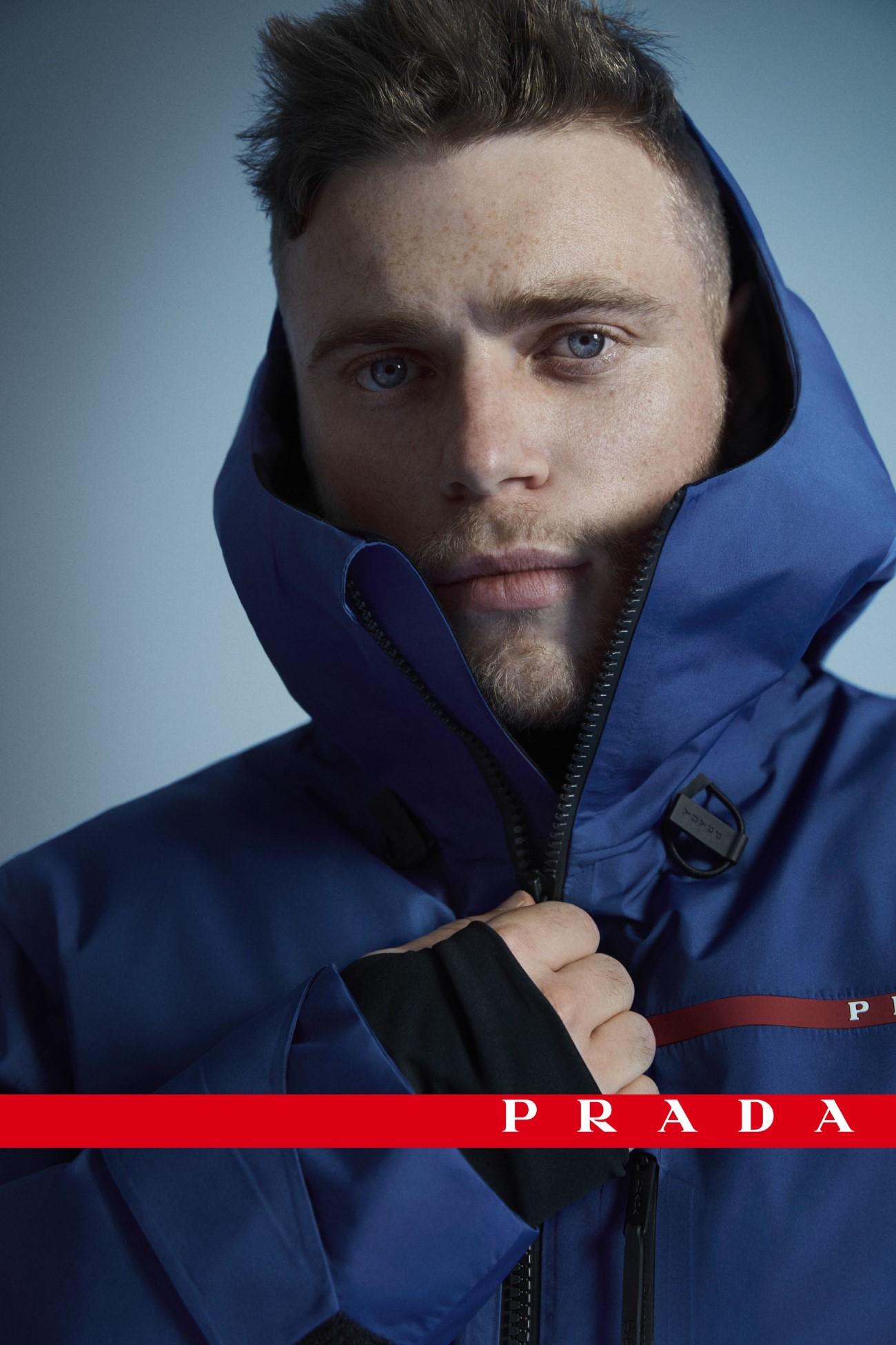 Prada Linea Rossa x Gus Kenworthy - Campagne Automne-Hiver 2020