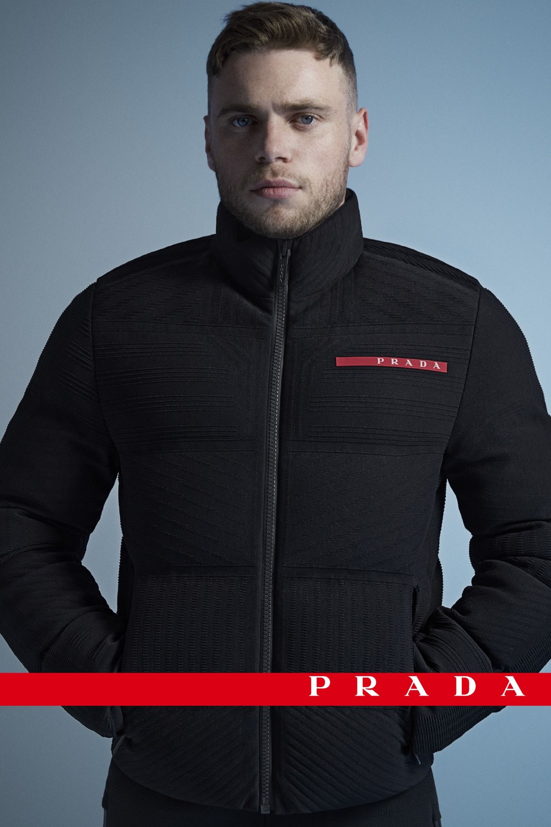 Prada Linea Rossa x Gus Kenworthy - Campagne Automne-Hiver 2020