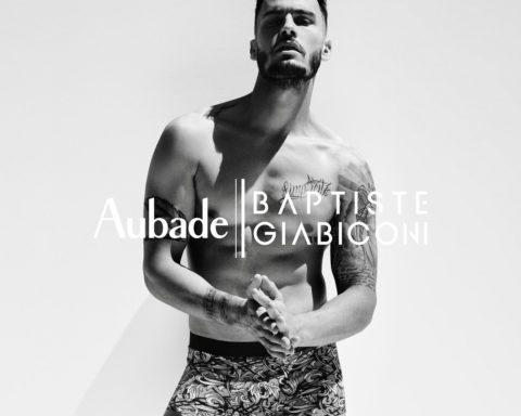 Aubade Paris x Baptiste Giabiconi