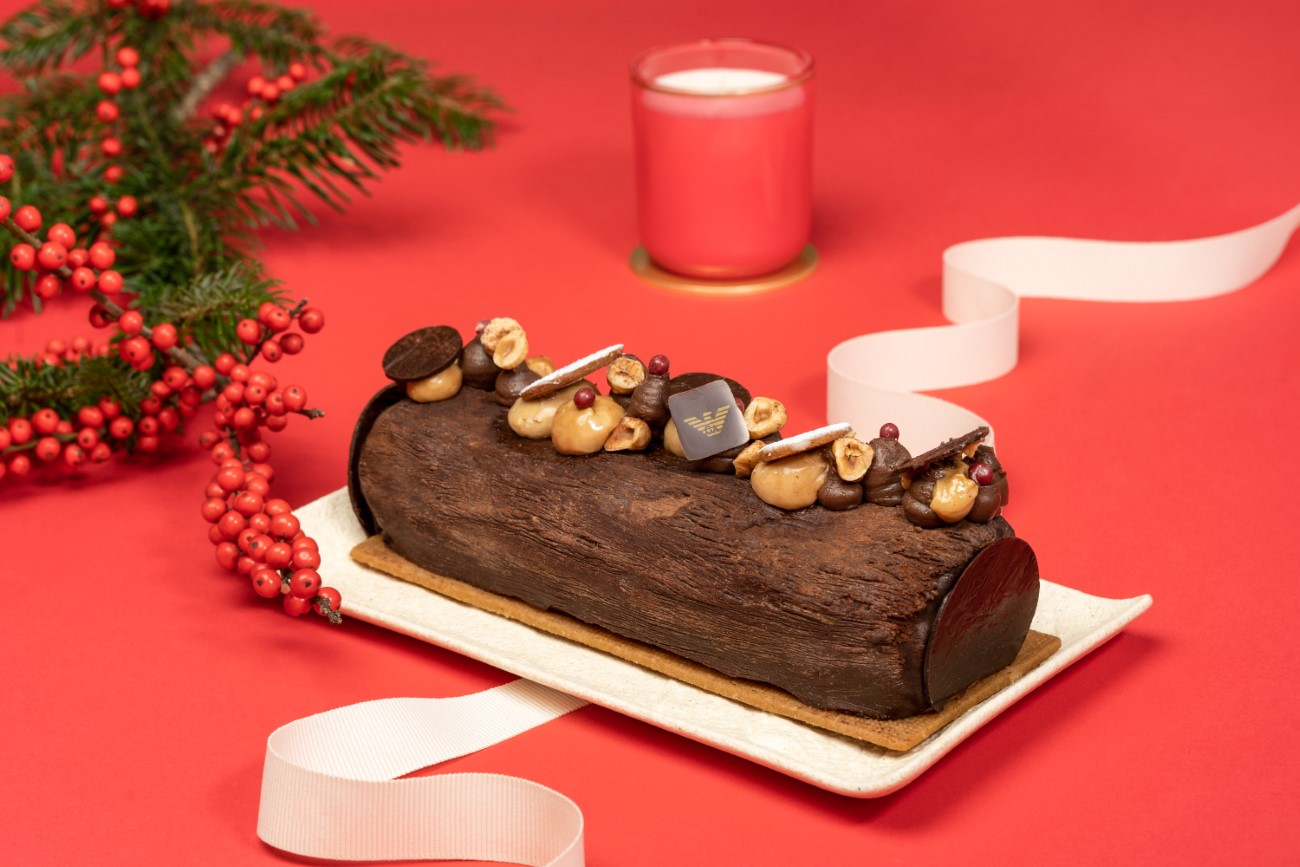 Bûches de Noël 2020 - Emporio Armani