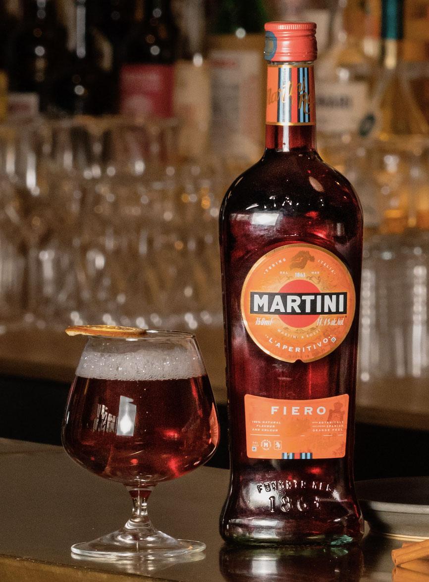 Denny Imbroisi Panettone x Martini