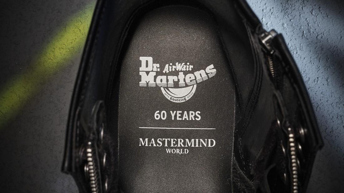 Dr. Martens x Mastermind WORLD