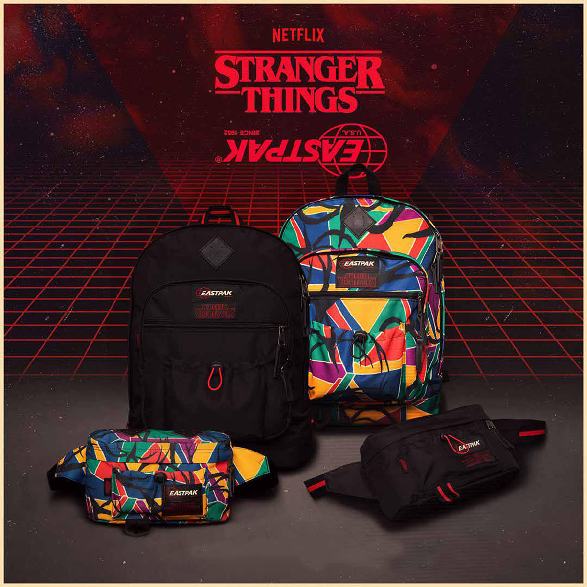 Eastpak x Stranger Things