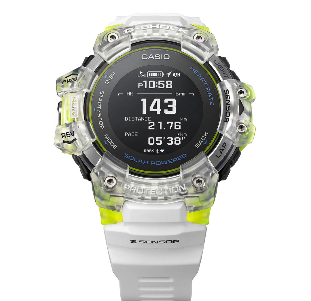 G-SHOCK G-SQUAD HR 2020