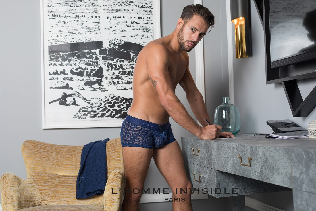 L'Homme Invisible - Collection ELIO