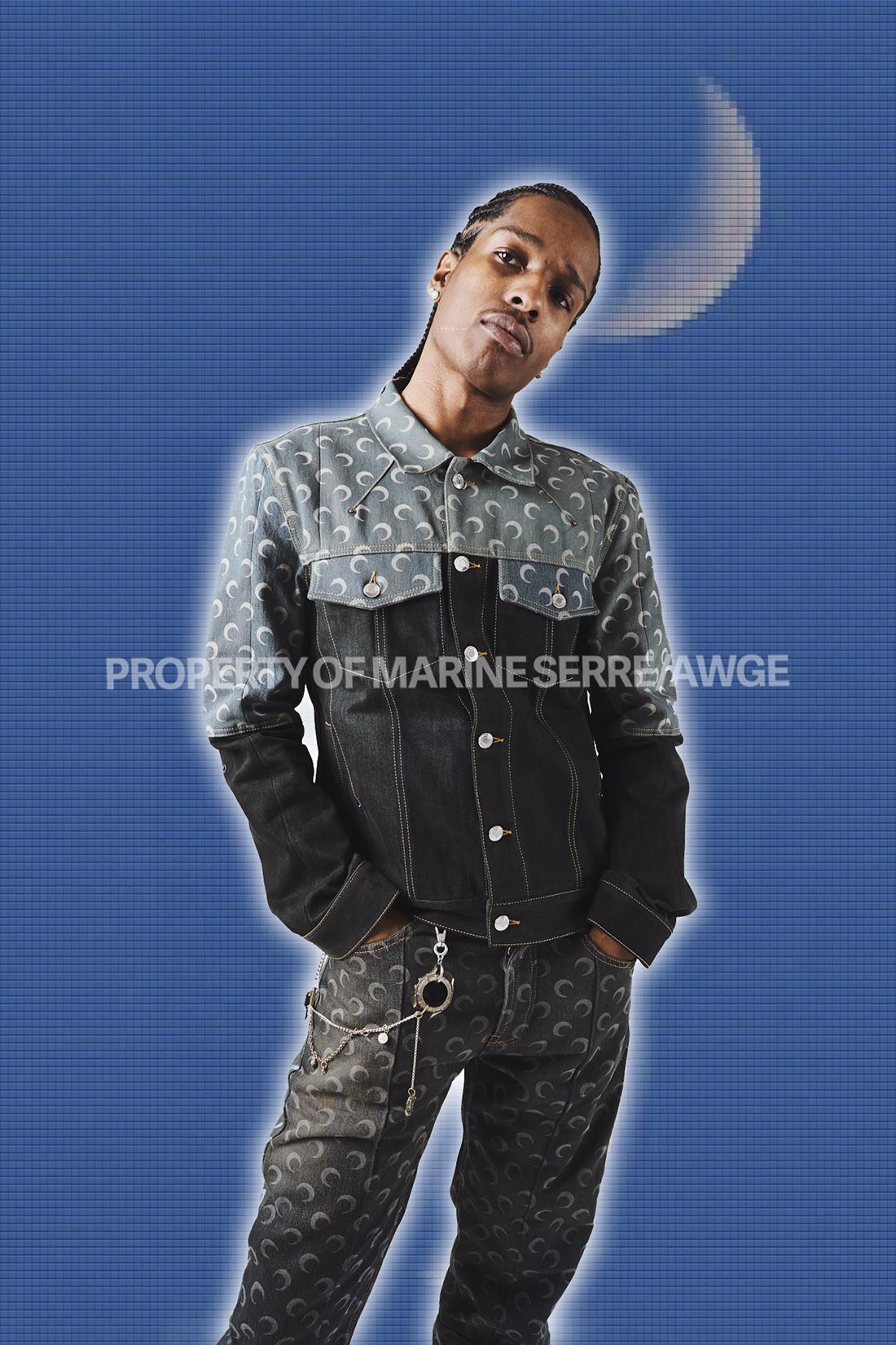 Marine Serre x AWGE A$AP Rocky