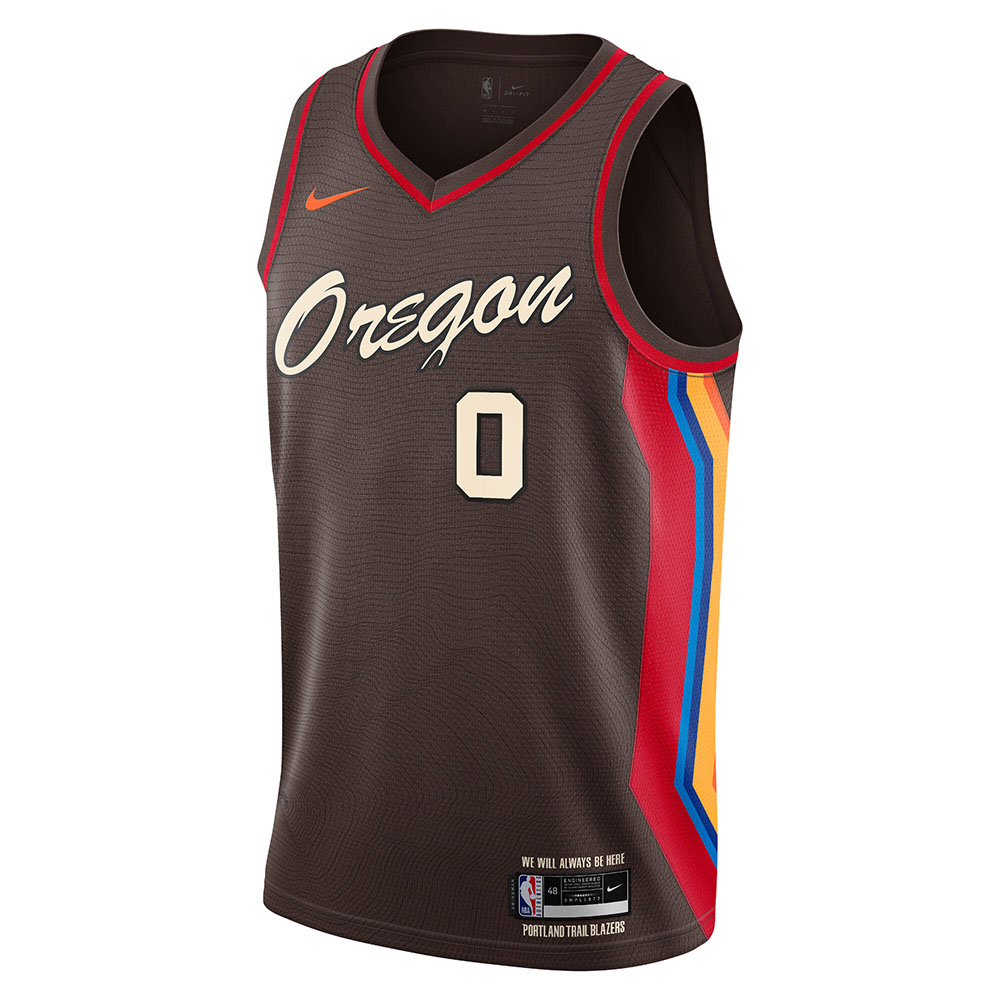 NBA x Nike City Edition 2020-21 - Portland Trail Blazers