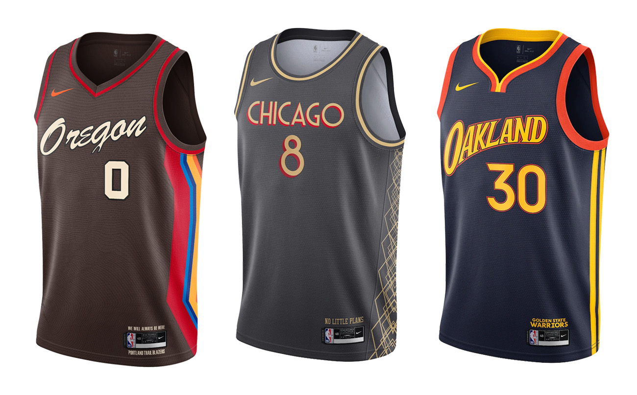 NBA x Nike City Edition 2020-21