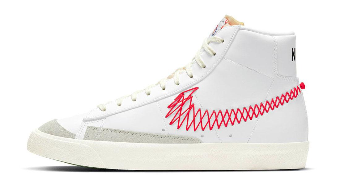 Nike Blazer Mid 77 Zig Zag Swoosh