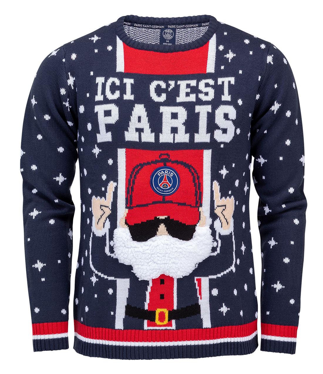 Pulls de Noël 2020 - Paris Saint-Germain