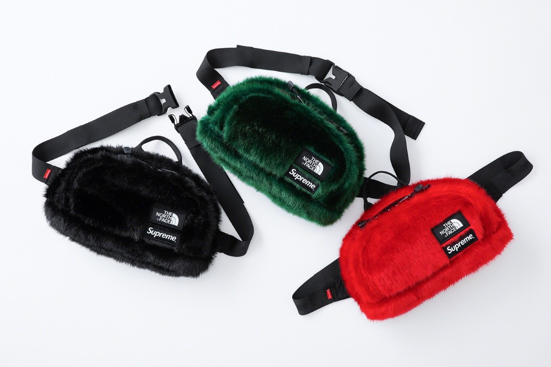 Supreme x The North Face AH20 Faux Fur Collection