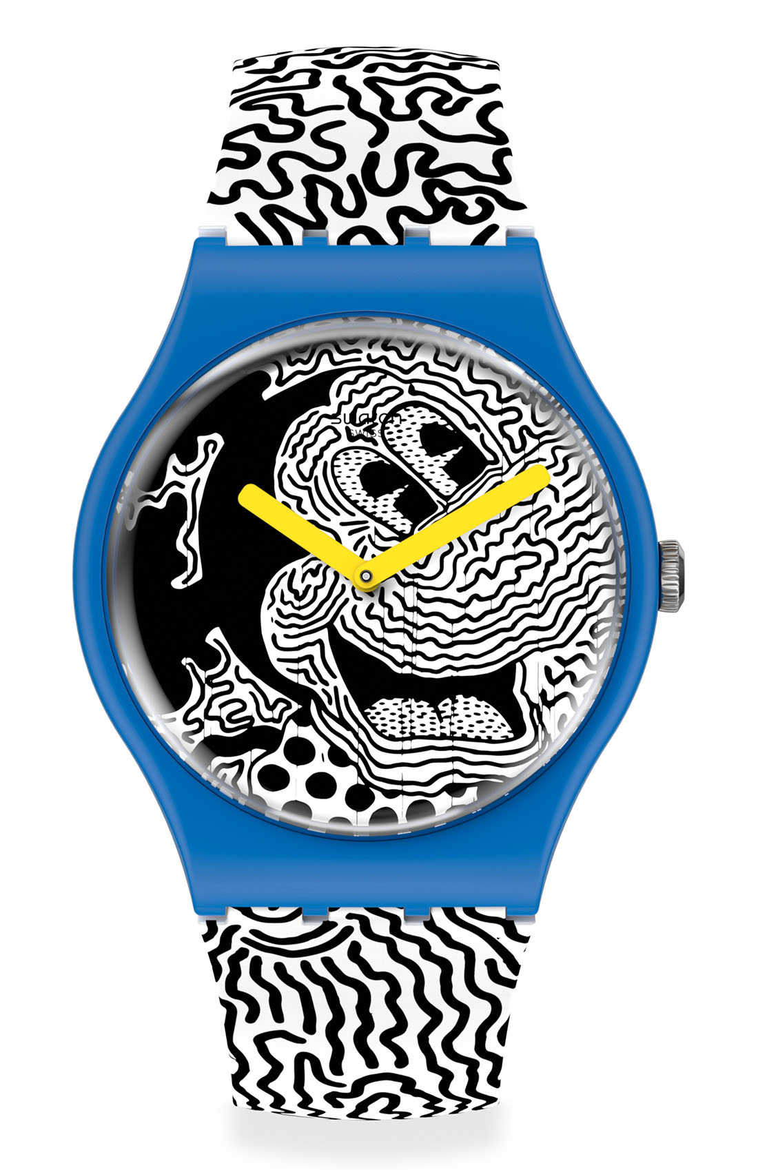 Swatch x Disney Mickey Mouse x Keith Haring - ECLECTIC MICKEY
