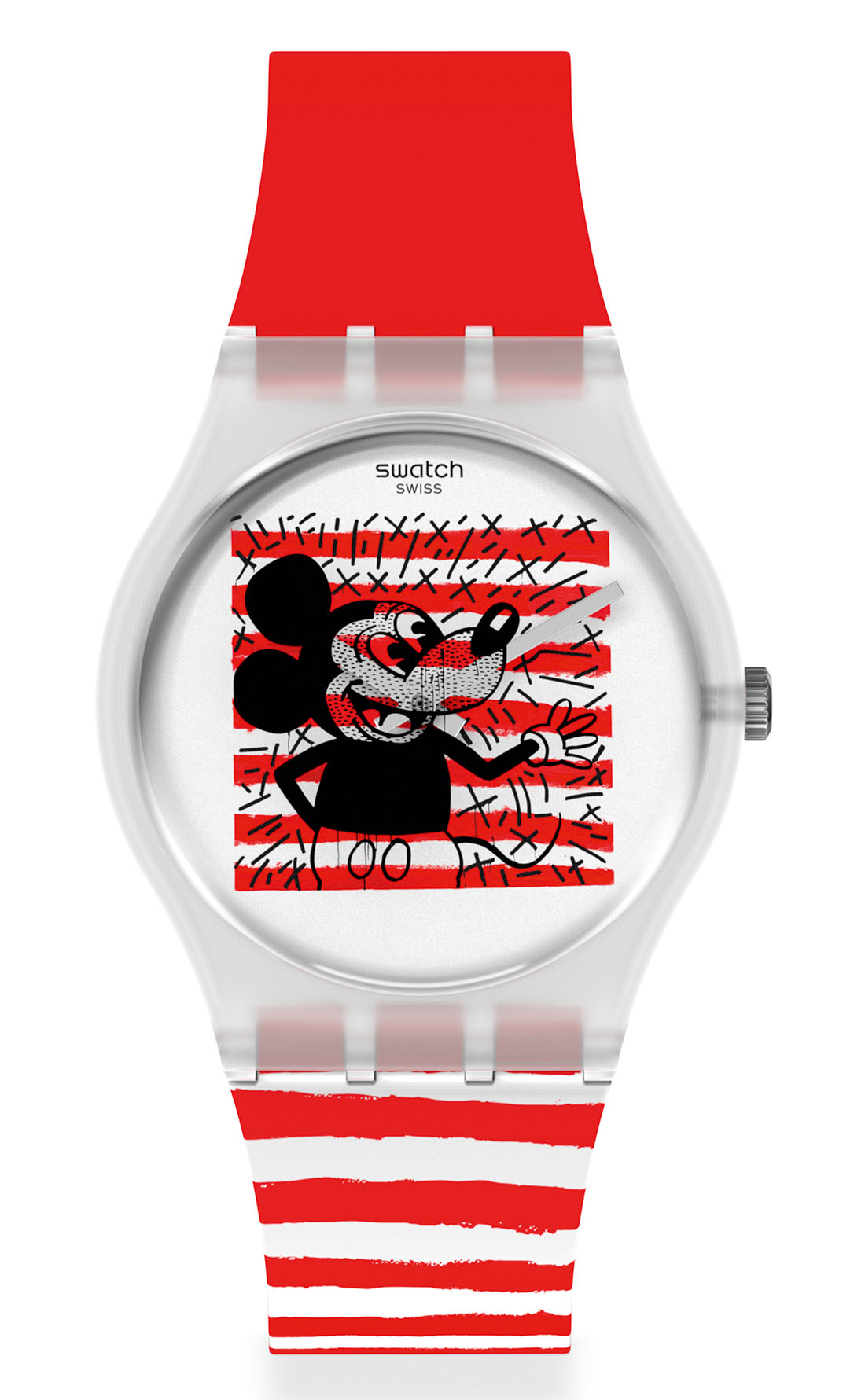 Swatch x Disney Mickey Mouse x Keith Haring - MOUSE MARINIÈRE