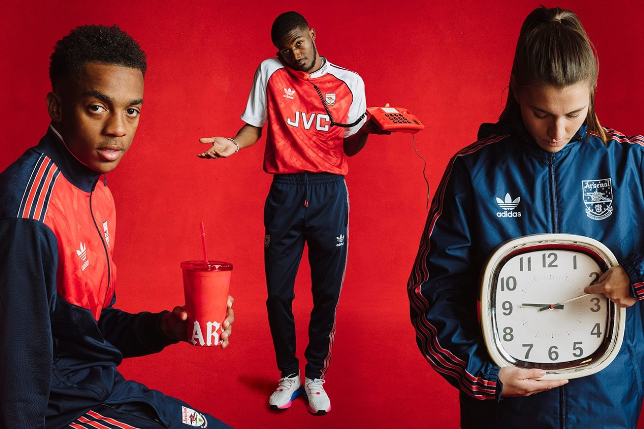 adidas Originals x Arsenal - Collection Rétro