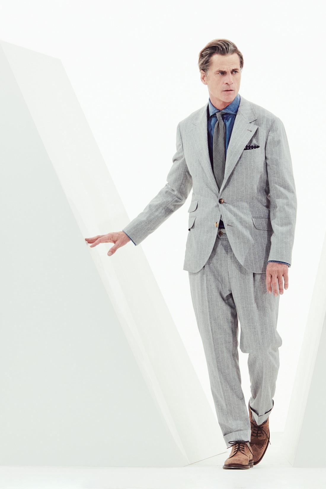 Brunello Cucinelli - Automne-Hiver 2021 - Milan Fashion Week