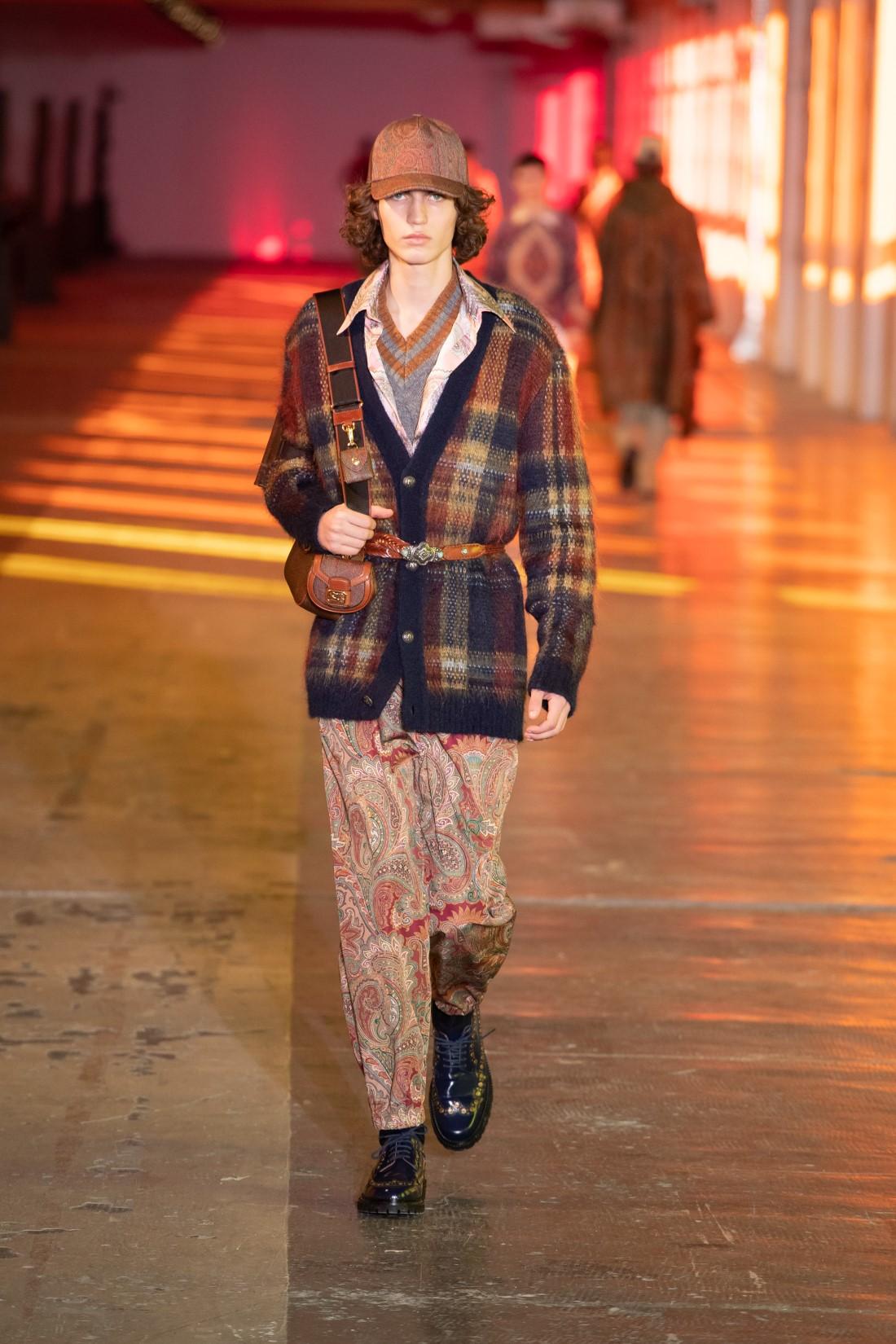 Etro - Automne-Hiver 2021-2022 - Milan Fashion Week