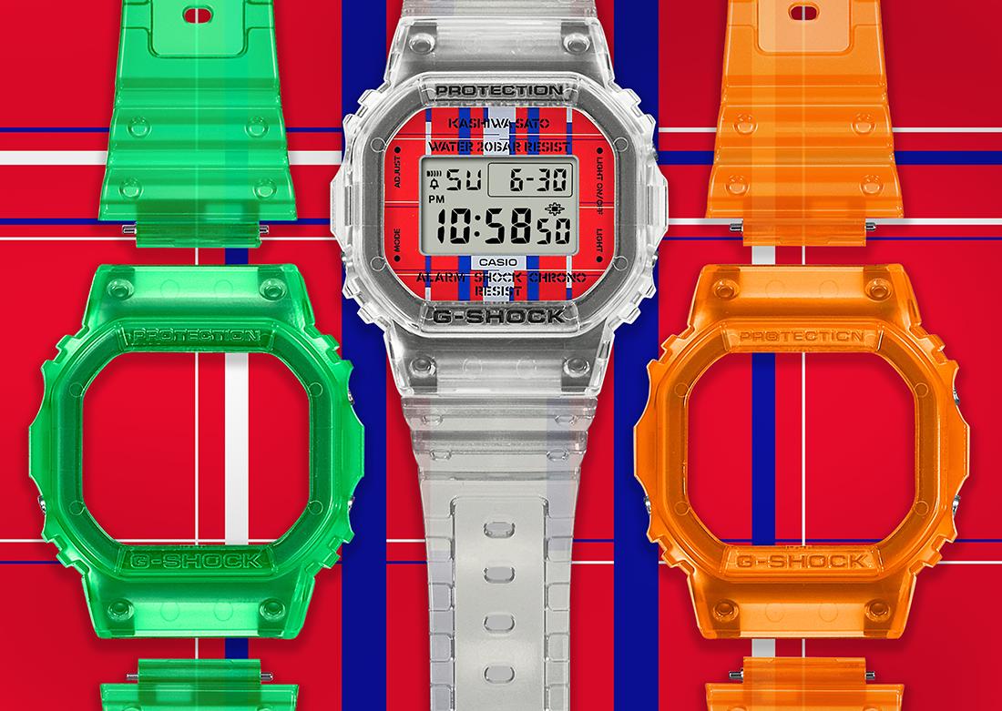 G-SHOCK DWE-5600KS x Kashiwa Sato