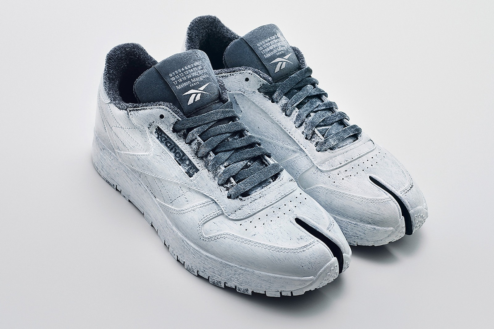 Maison Margiela x Reebok CLassic Leather Tabi