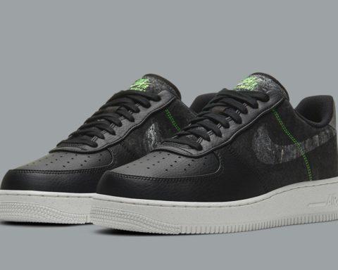 Nike Air Force 1 Wool Pack Black