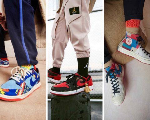 Nouvel An Lunaire 2021 - Nike Jordan Converse