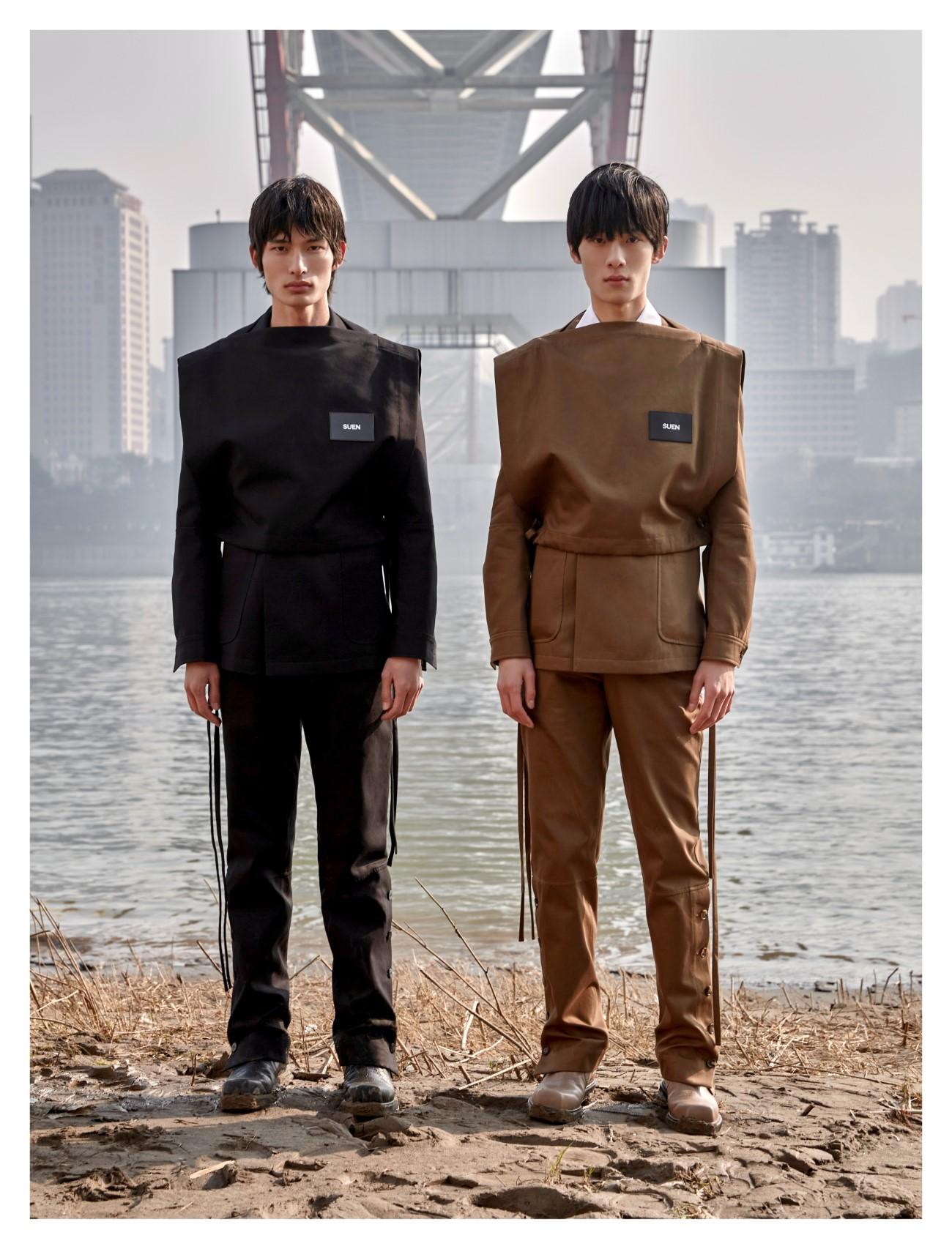Sean Suen - Automne-Hiver 2021 - Paris Fashion Week