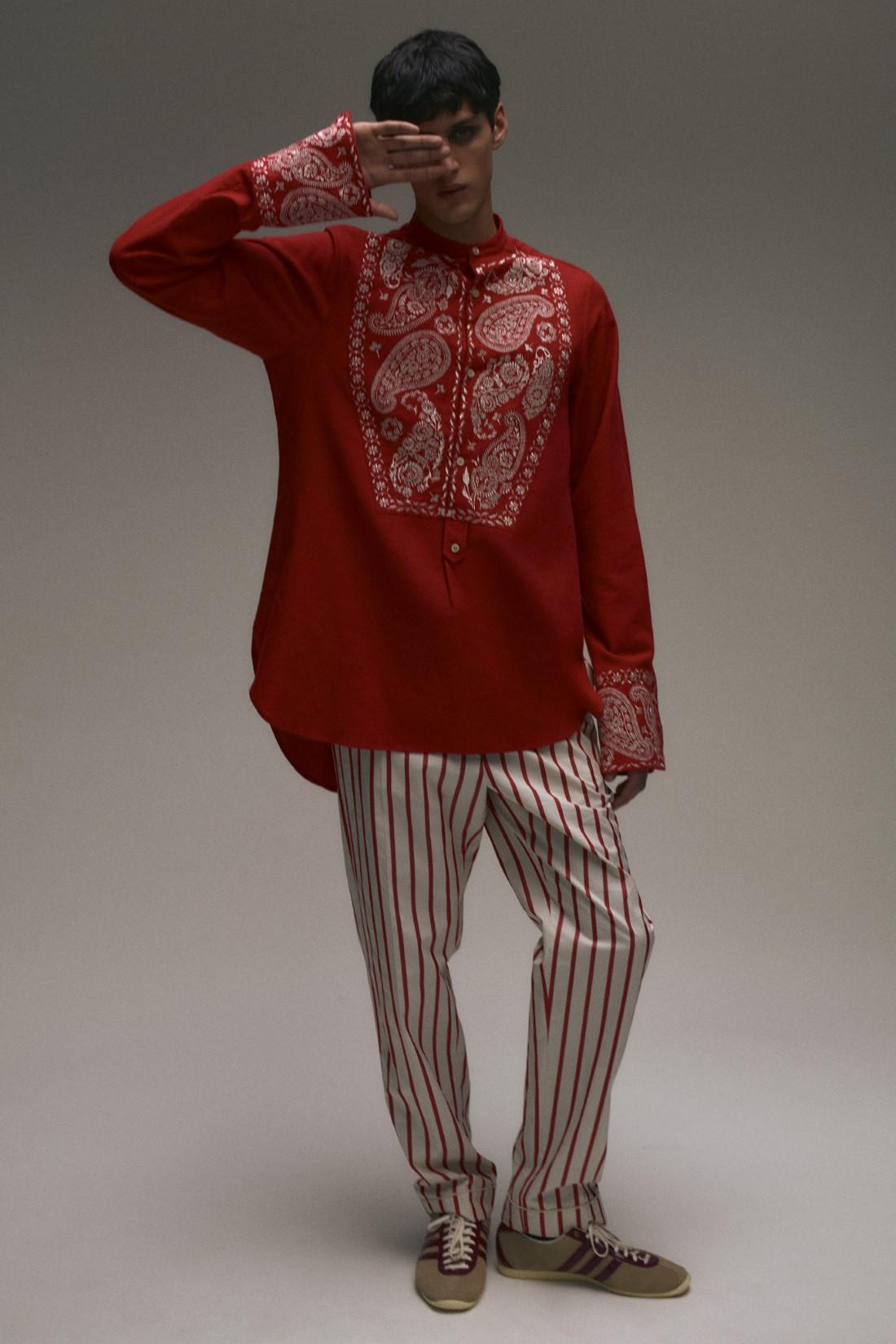 Wales Bonner - Automne-Hiver 2021 - Paris Fashion Week