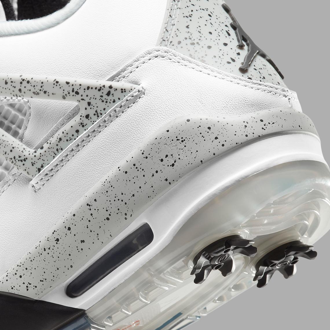 Air Jordan 4 Golf White Cement